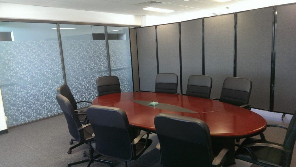 Maximising Office Space Using Portable Partitions