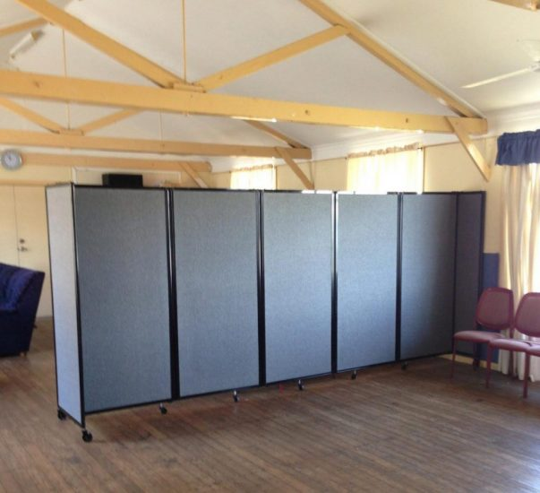 Creating Multi-Function Spaces Within Church Centres Using Mobile Room Dividers