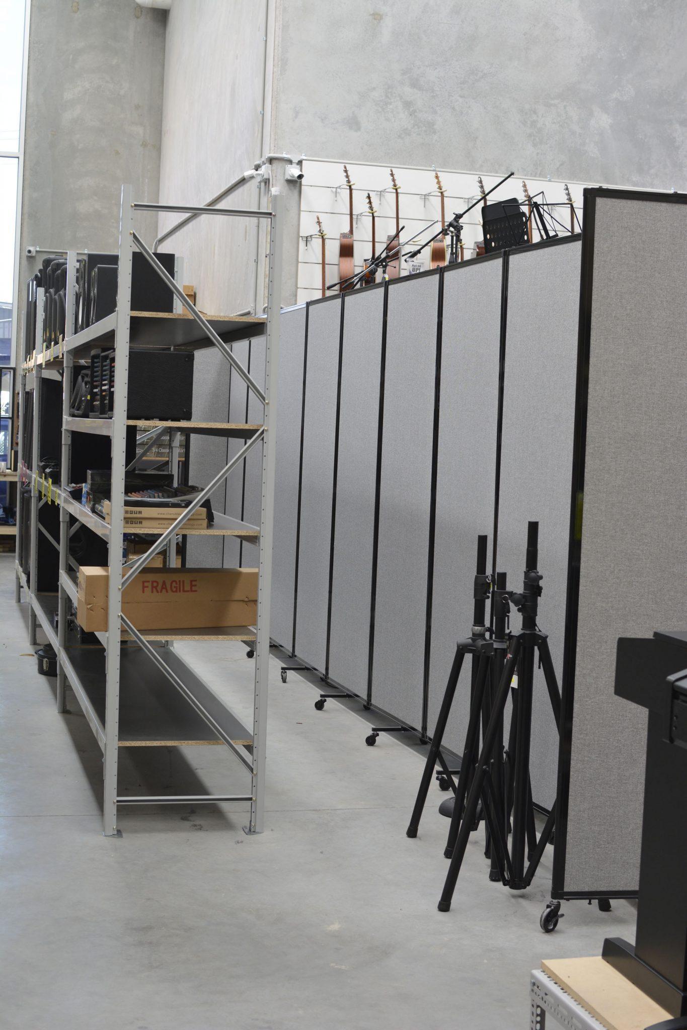 polycarbonate flexible room dividers - Portable Partitions