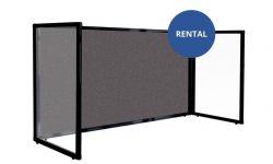Charcoal-Fabric-Desktop-Protections-Screen-3-panel-freestanding-rental