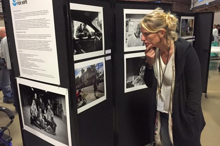 Photographers for Hope exhibition