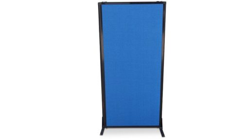 Afford-a-wall Sliding Mobile Room Divider (Fabric)