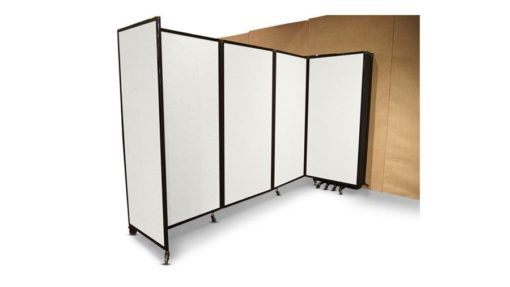 360 Acoustic Room Divider Wall Mountable (Polycarbonate) - Portable Partitions