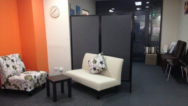 360 Acoustic Portable Room Divider (Fabric)
