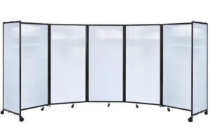 360 Acoustic Portable Room Divider (Polycarbonate)
