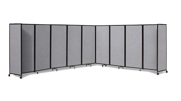 360 Acoustic Portable Room Divider (Fabric) - Portable Partitions Australia