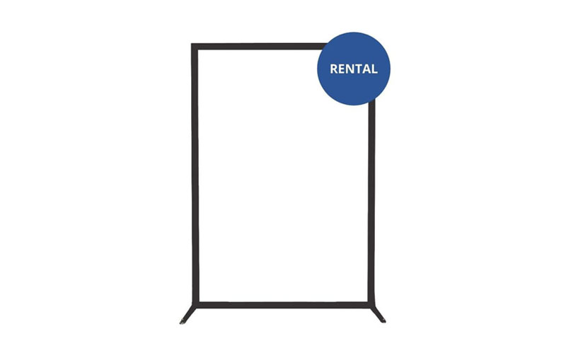 Rent Single Panel Mobile Clear Divider